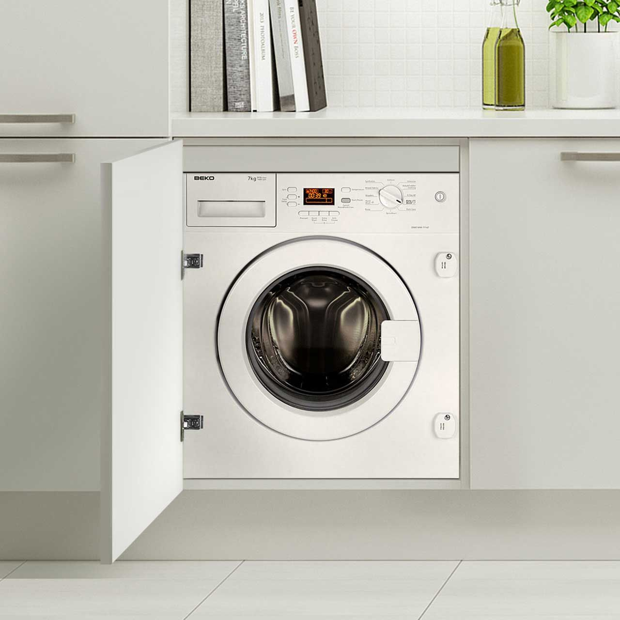 Beko Integrated 7Kg Washing Machine | WMI71641 | ao com