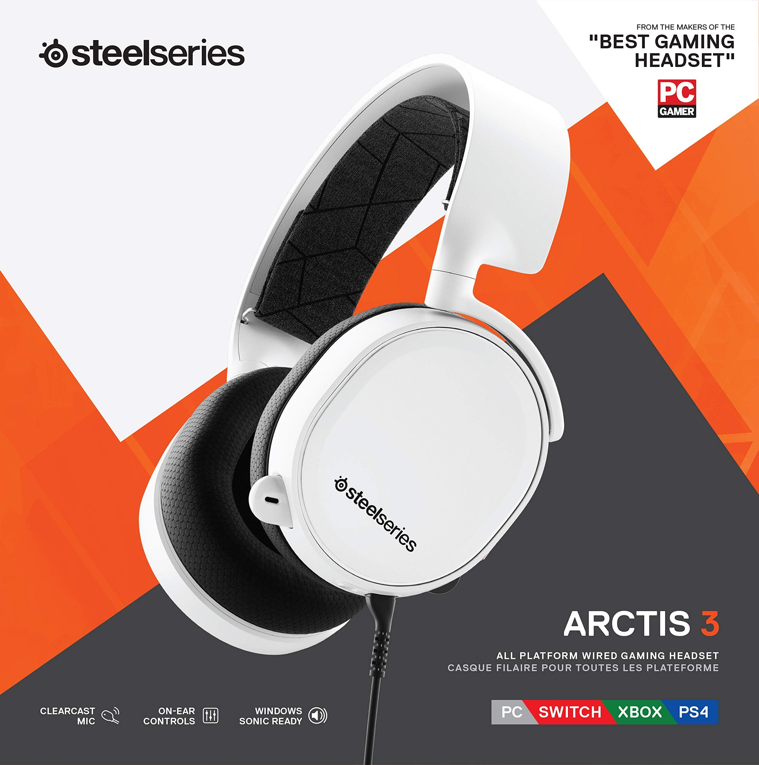 SteelSeries Arctis 3 (2019 Edition) AllPlatform Gaming