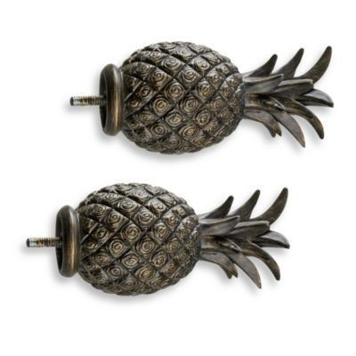 19 Ways To Decorate With Pineapples Pineapple Kitchen Finials