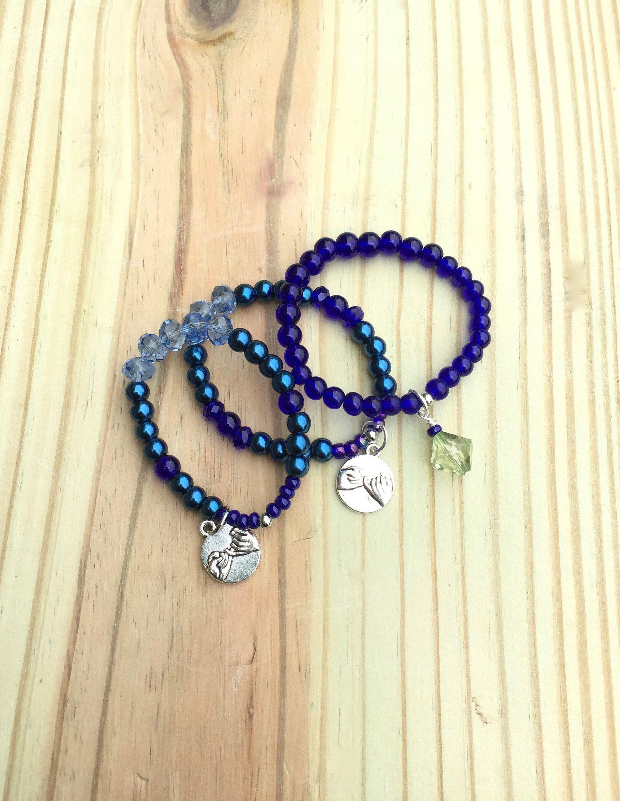 Friendship bracelets flower girl gift birthday gifts stretchy