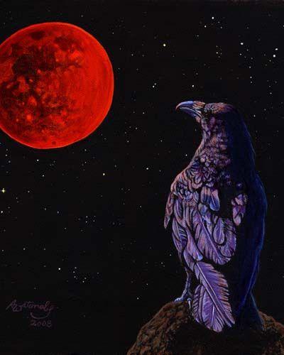 Lunar Eclipse Art