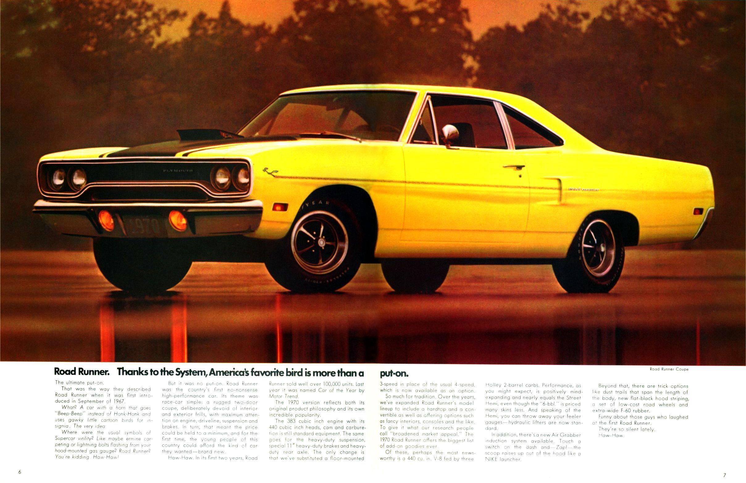 NOS 1969 Plymouth Hemi GTX Art Picture Print Dealer Advertising MOPAR