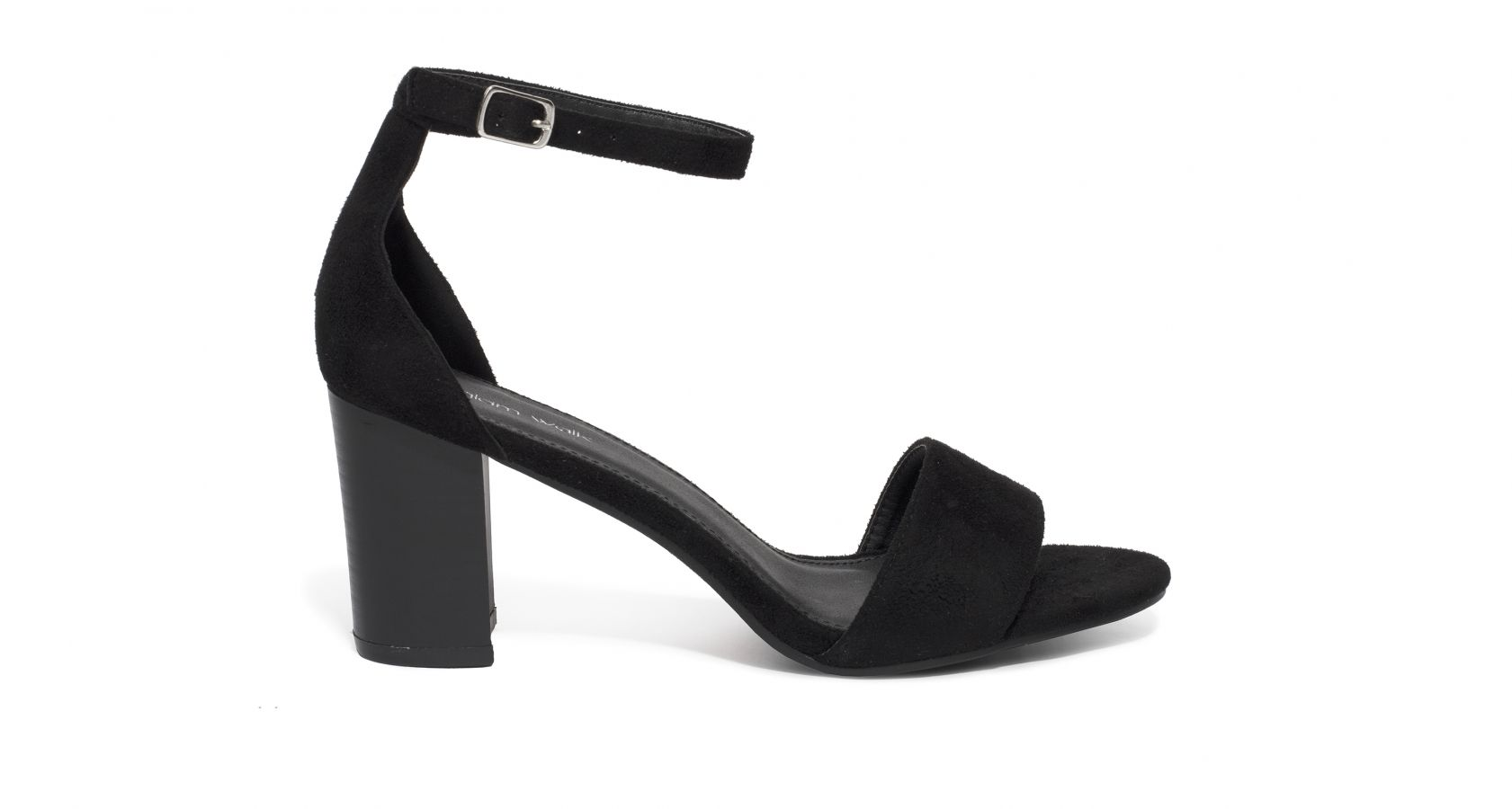 61aaf92e7010 faux suede heeled sandals