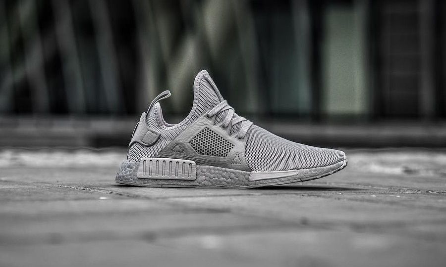 18fea4ba9 ... at one of the more promising upcoming colorways of the adidas NMD XR1.  The popular sneaker will release in the near future featuring a fully tonal  grey ...