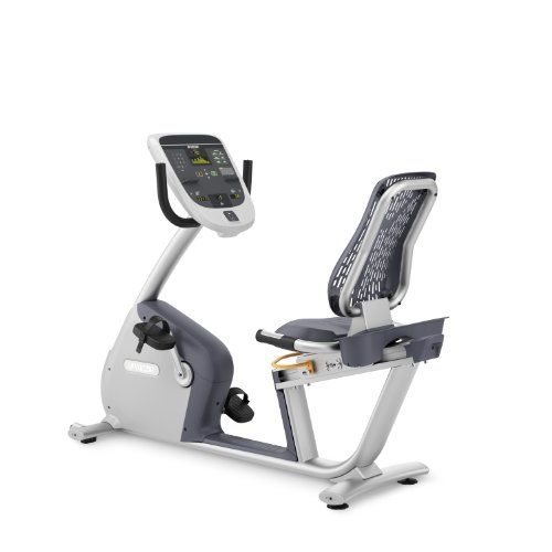 Precor Rbk 815 Commercial Recumbent Exercise Bike With P10 Console