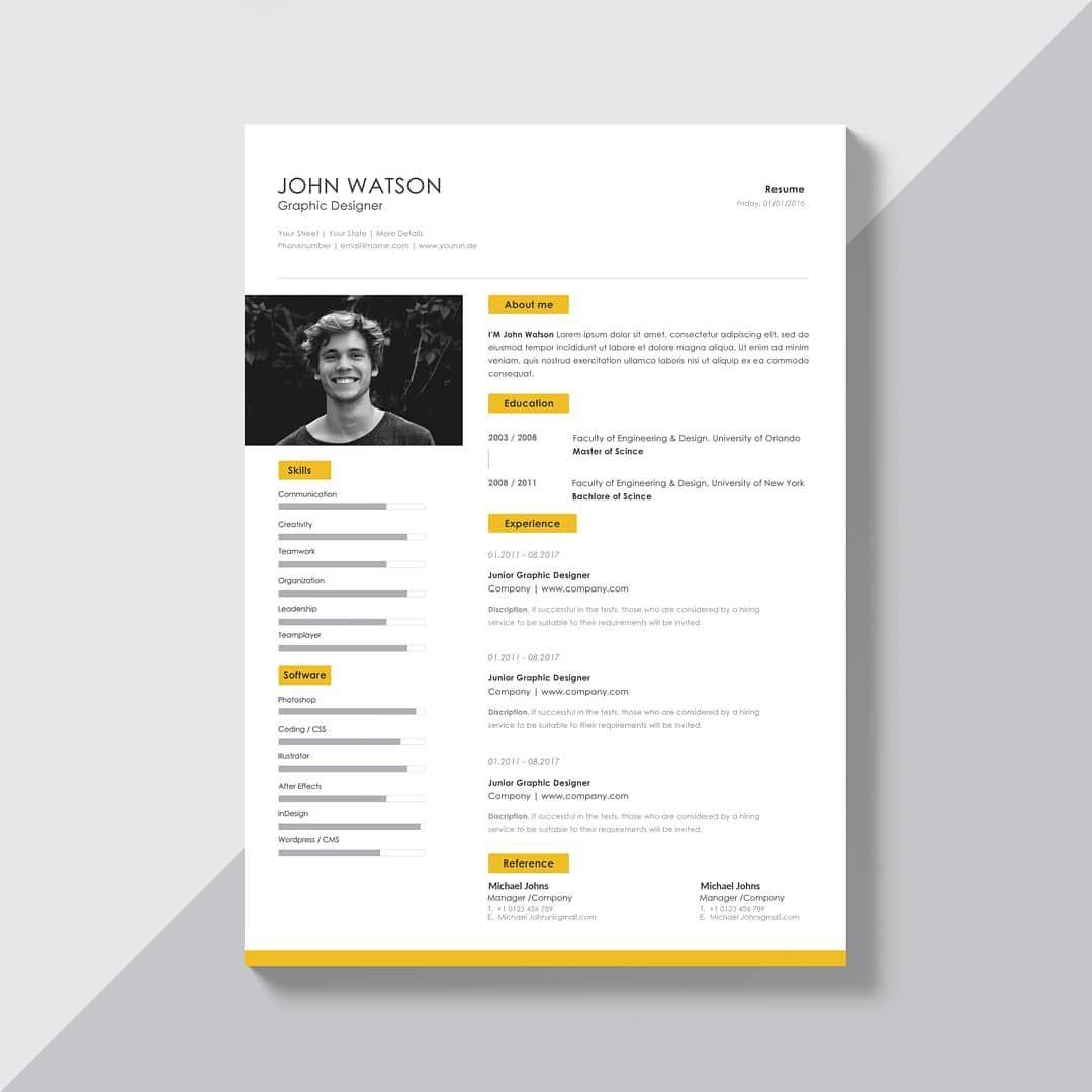 Modèle de CV en ligne à télécharger et personnaliser avec ...