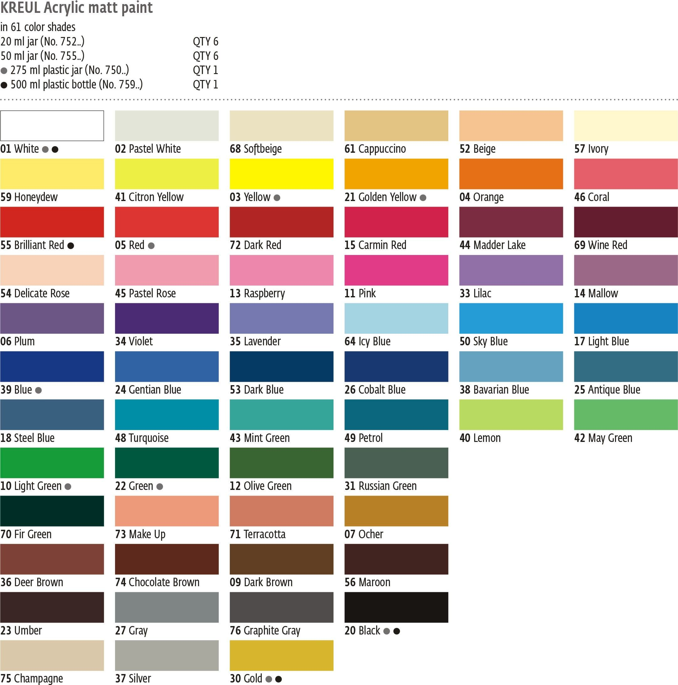 Image Result For Apple Barrel Acrylic Paint Color Chart Paint Color Chart Simple Acrylic Paintings Colorful Paintings Acrylic