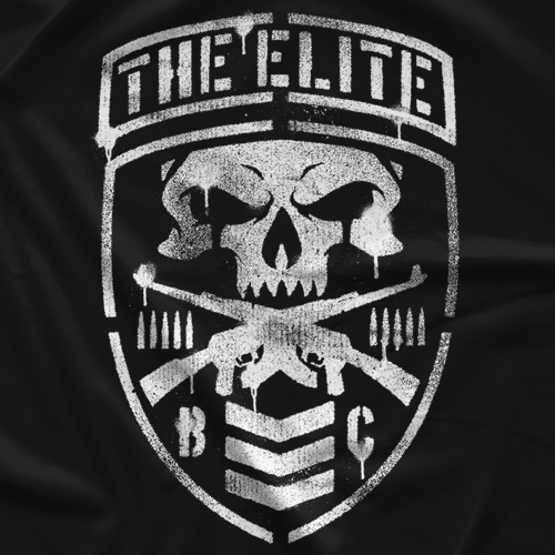 WWE Mattel Elite 4 Custom Bullet Club Shirt Wrestling Figure NJPW ROH