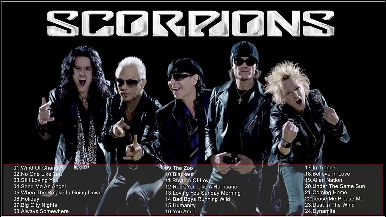 Scorpions Best Songs Album The Best Songs Of Scorpions 2018 Brotherhood Of The Wolf French Movies Movies