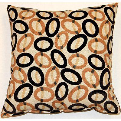 Creative Home Frisbee KE Throw Pillow | Wayfair