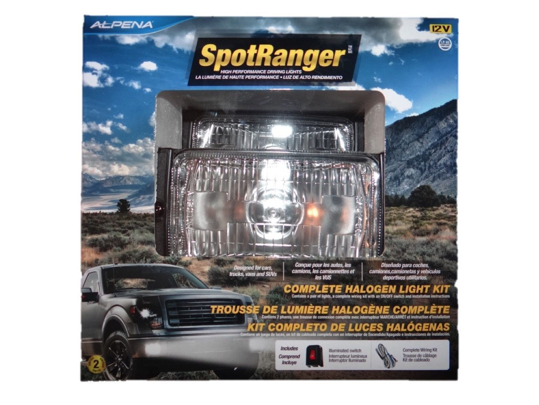 Alpena SpotRanger Halogen High Performance Driving Lights 12v / (2 ...