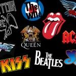Led Zeppelin The Who Queen The Rolling Stones Van Halen Kiss