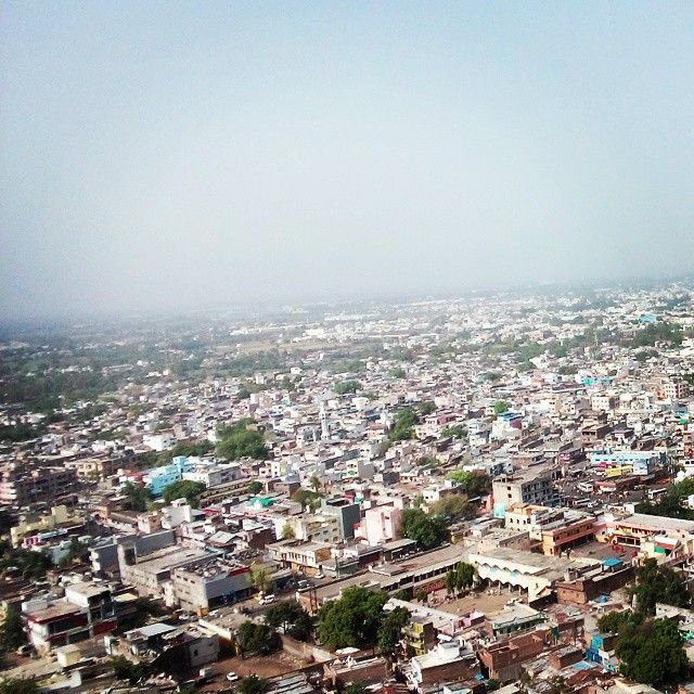 City where God lives @ Devas having more than 300 temples #Topview#city#photography
