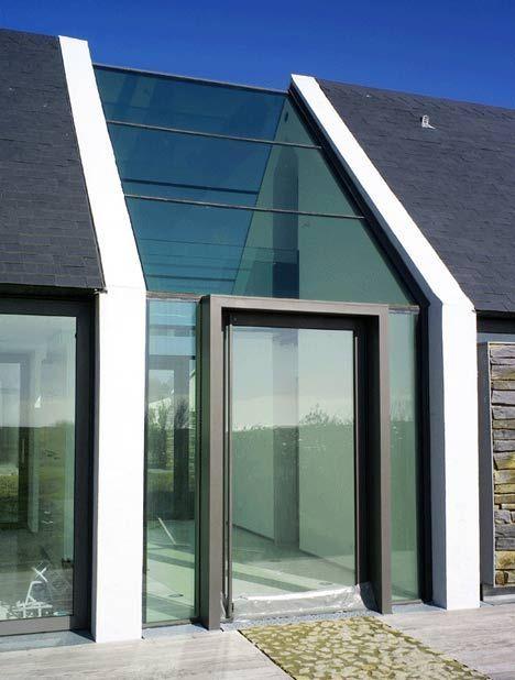 Best Entree En Lichtbaan In 2019 Glass Walkway House With 640 x 480