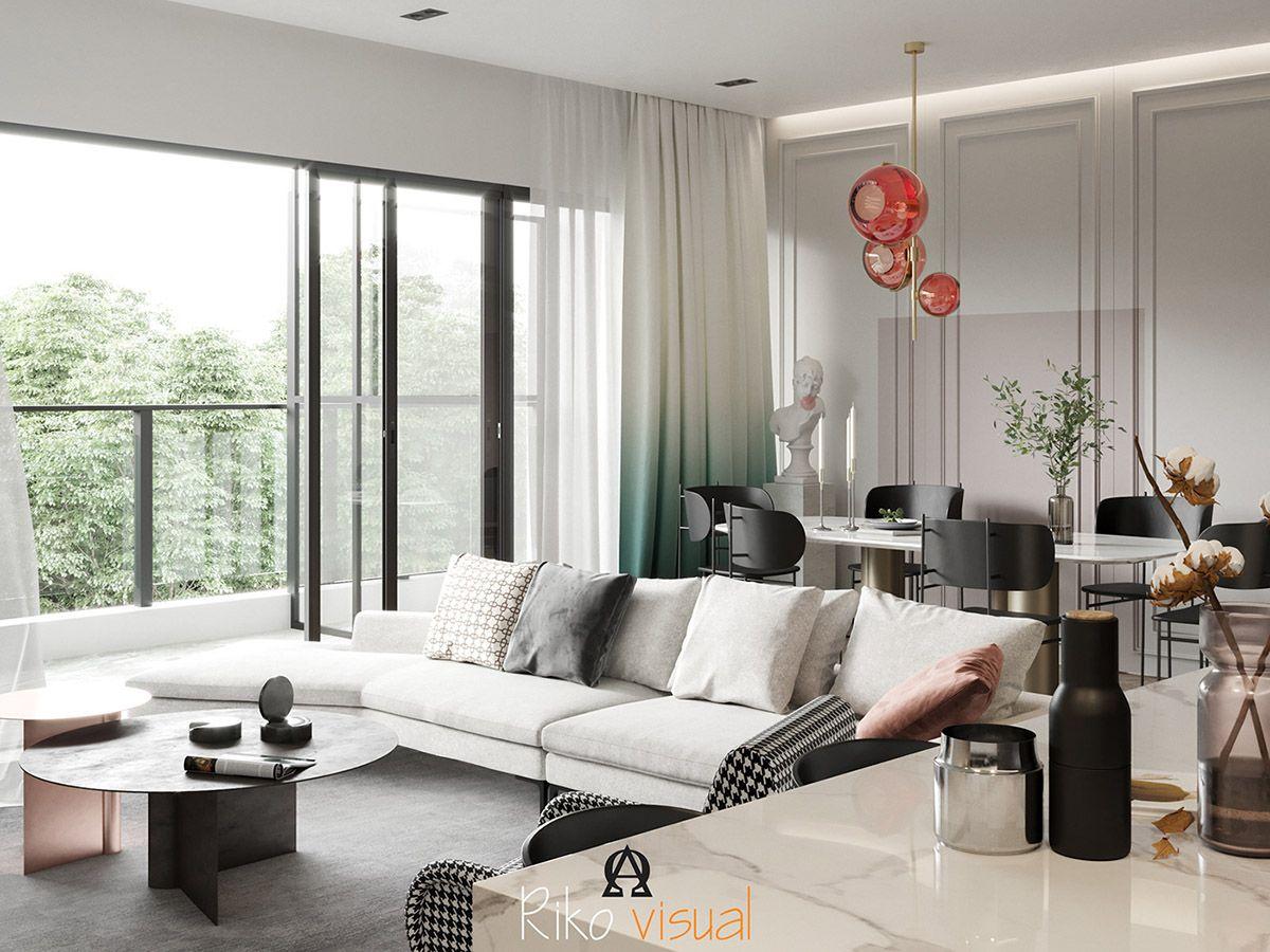 3 Home Interiors With Modern Elegance Furniture Design Living