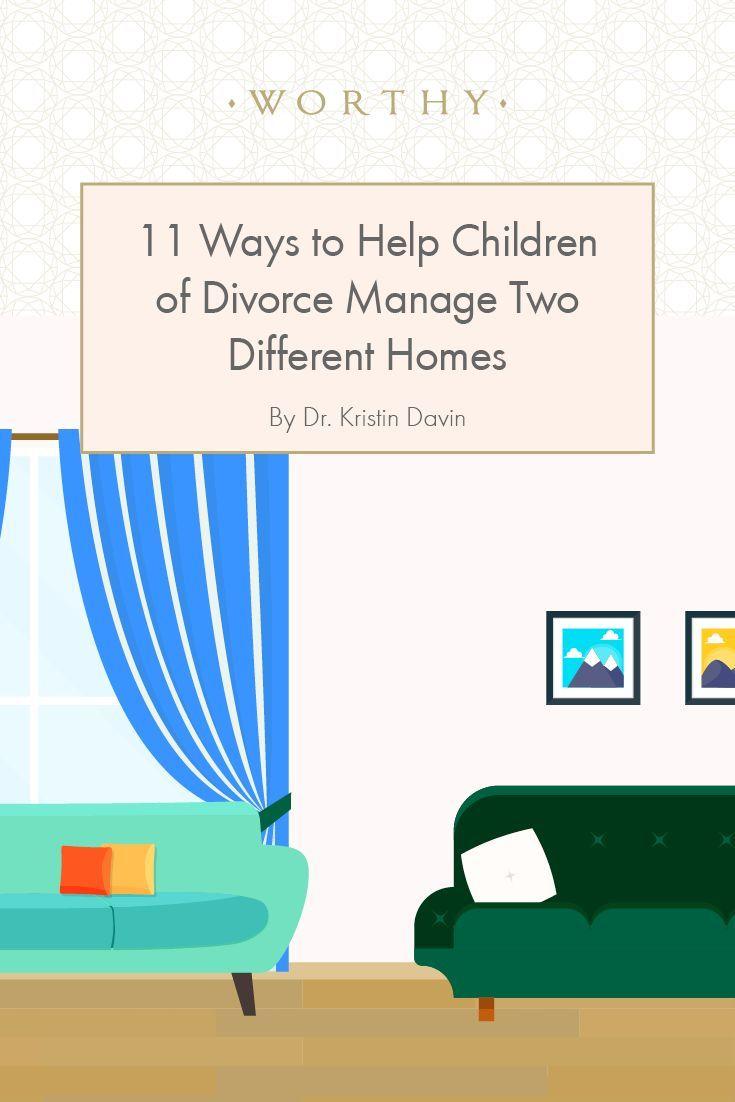 11 Ways to Help Children of Divorce Manage Two Different Homes #divorce