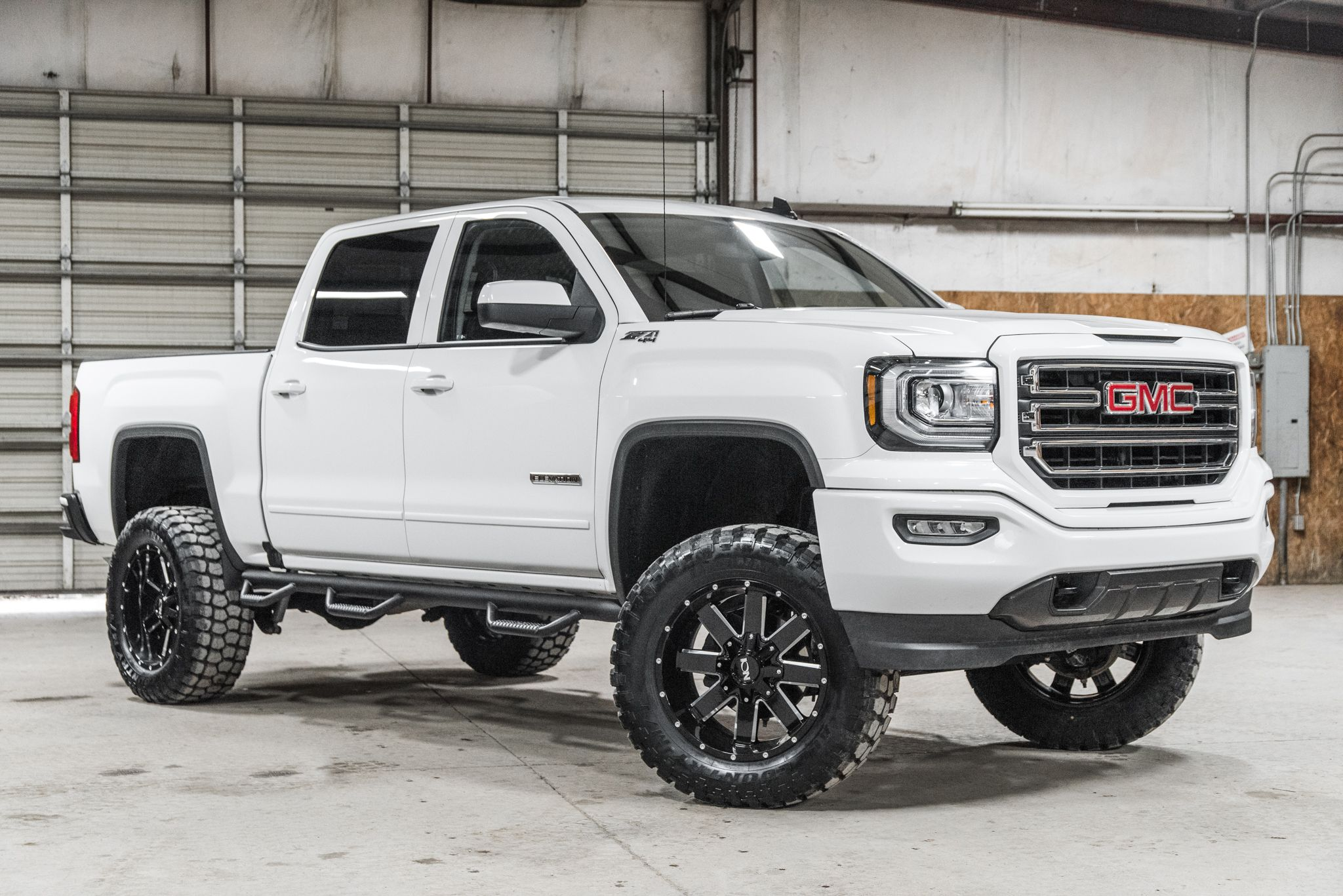 Sold Lifted 2018 Gmc Sierra 1500 4x4 Crew Cab Sle Z71 Elevation