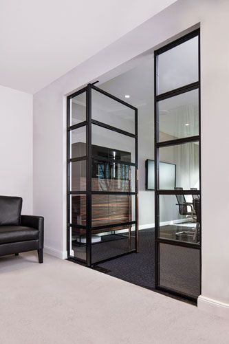 stahl glas t r flur in 2018 pinterest t ren schiebe t r und haus. Black Bedroom Furniture Sets. Home Design Ideas