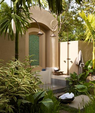 World S Sexiest Hotel Showers Outdoor Outdoor Baths Outdoor Shower