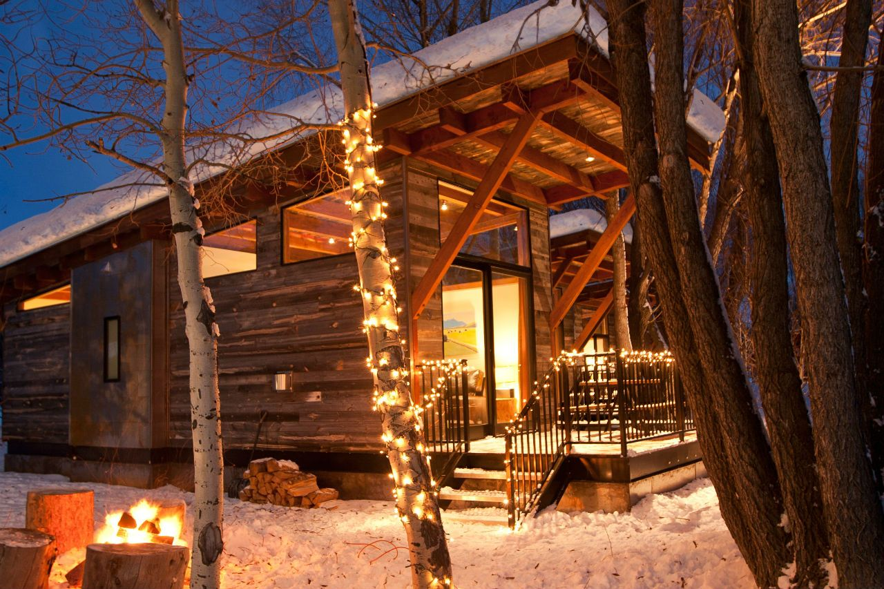 Wilson, Jackson, Wyoming Cabin Resorts In Jackson Hole