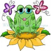 Sunflower Frog Frog Drawing Frog Pictures Frog Illustration