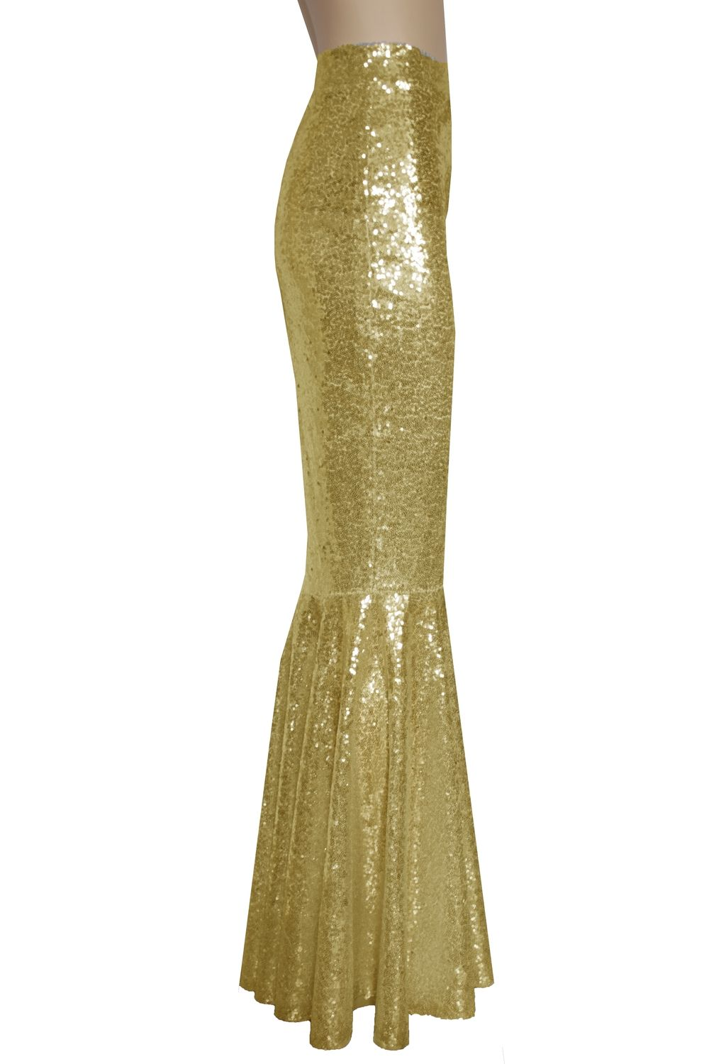 82e83bd78 Gold mermaid skirt. Sequin bridal separates. Mix and match bridesmaid skirt.  Plus size formal outfit.
