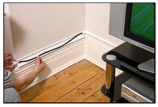 Hide Tv Cables With A Tv Cable Cover From D Line Home Upgrades Home Home Diy