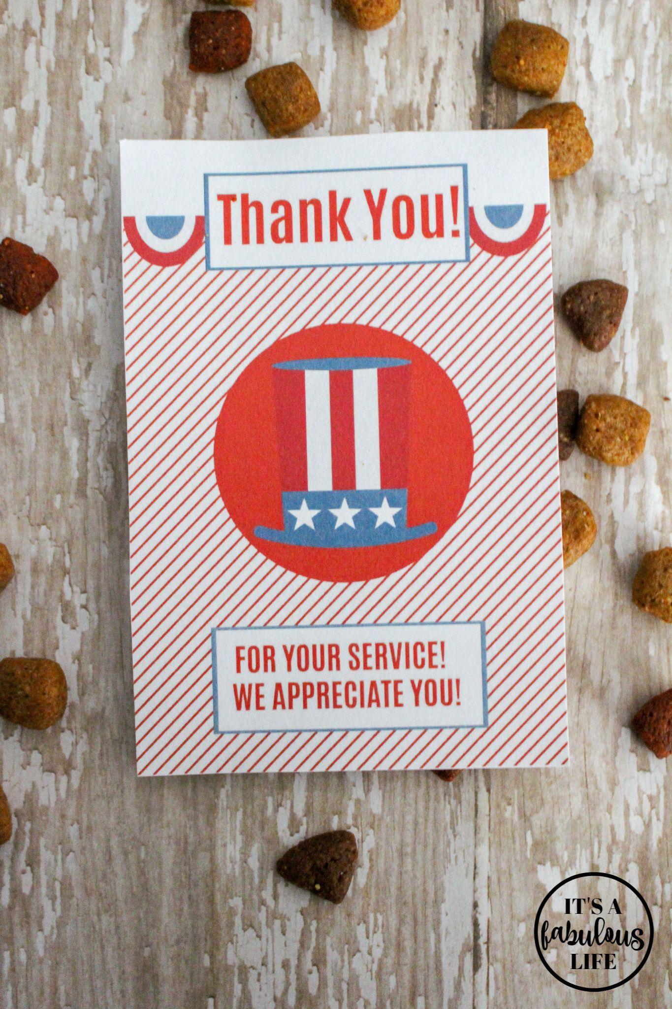 free printable cards to thank a veteran  pledge to thank
