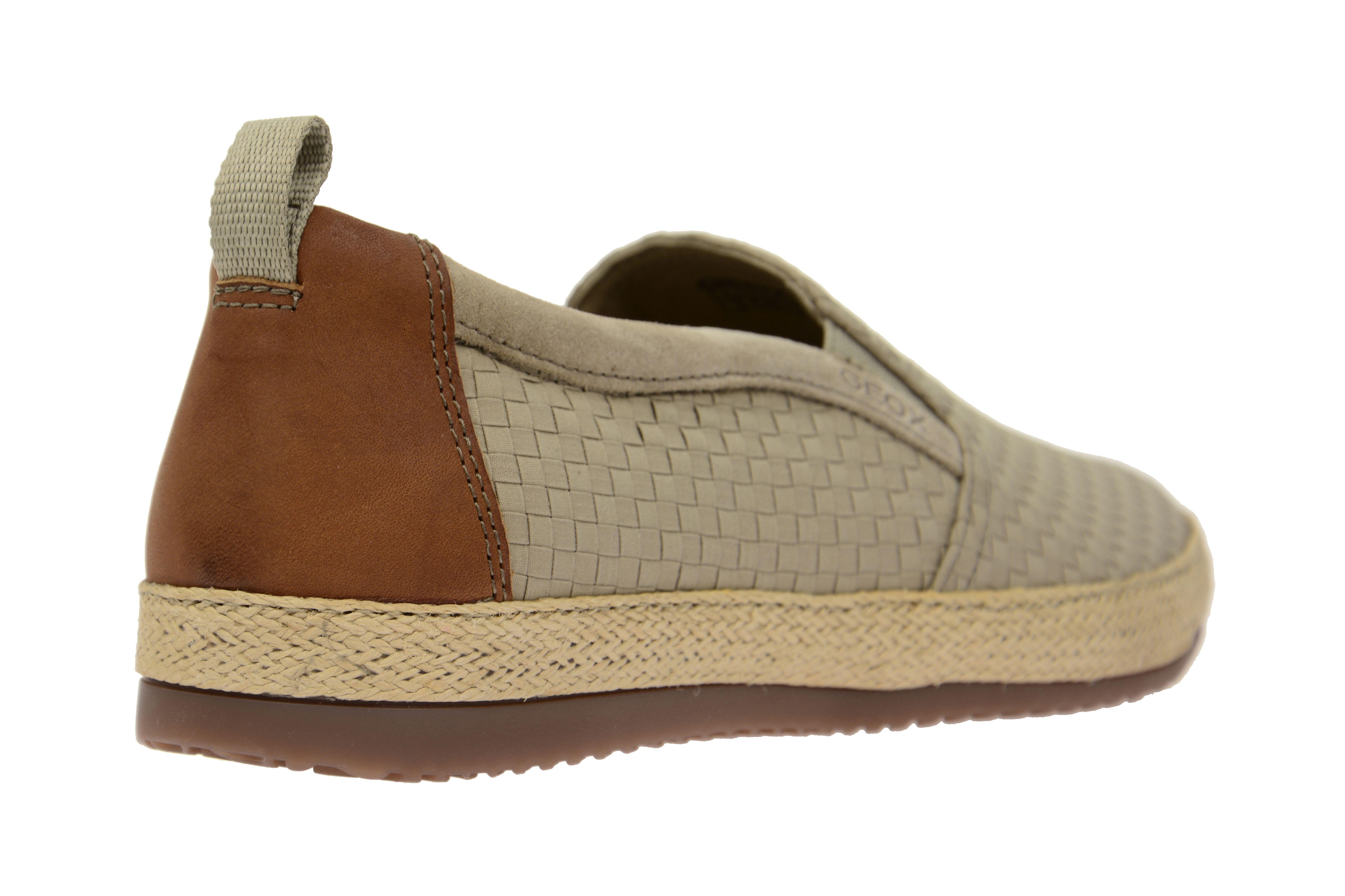 Einkaufszentrum Herren Geox U KRISTOF A U620EA braun Sneaker