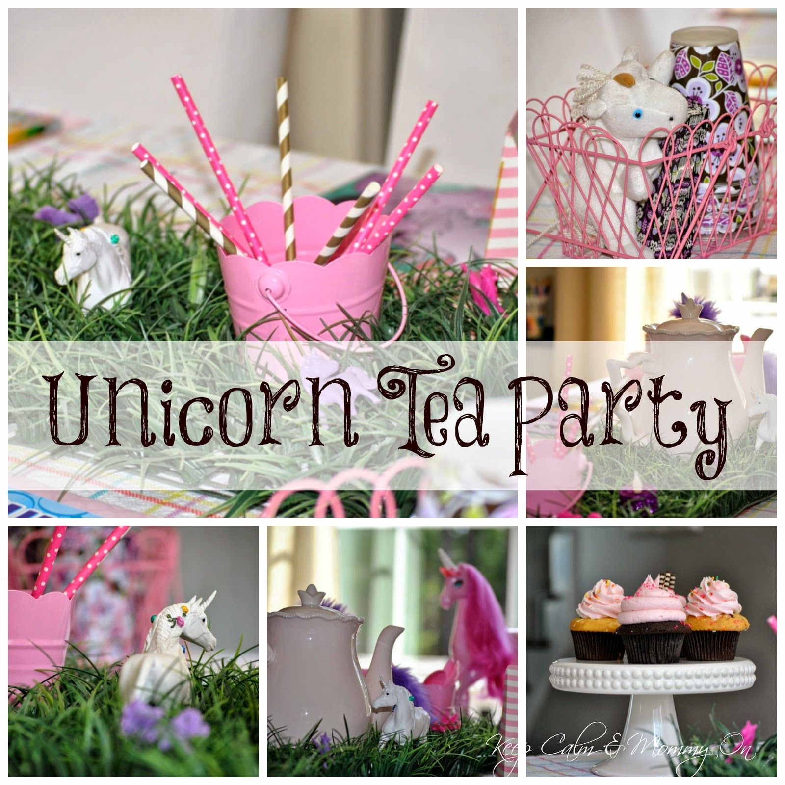 Budget friendly DIY Unicorn Tea Party or birthday party Best