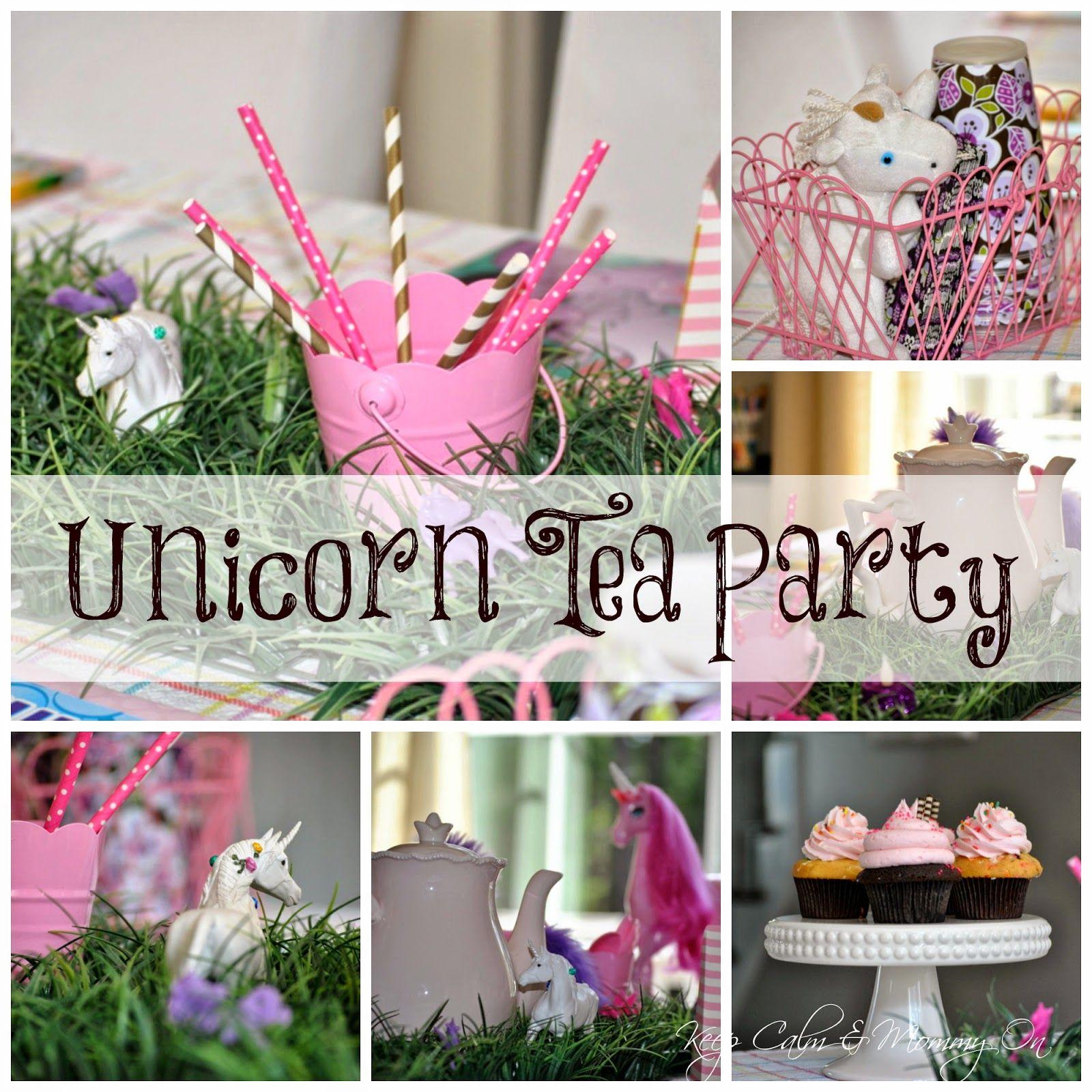 Budget Friendly, DIY Unicorn Tea Party Or Birthday Party