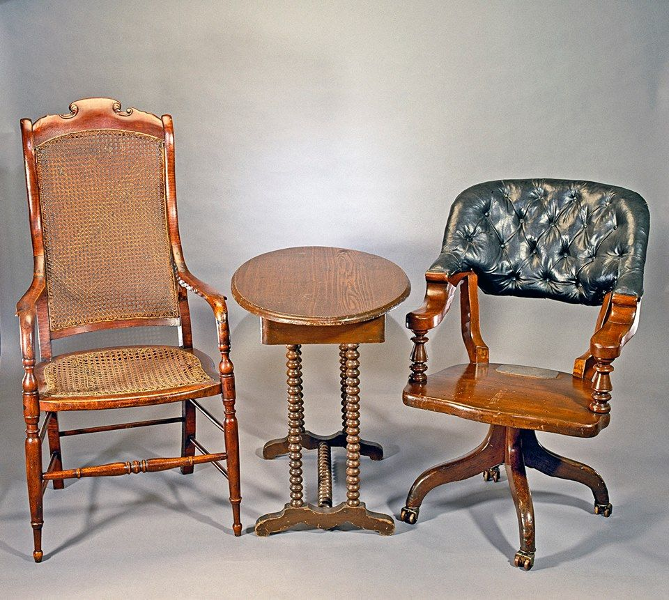 April 9 1865 Sitting In These Chairs General Robert E