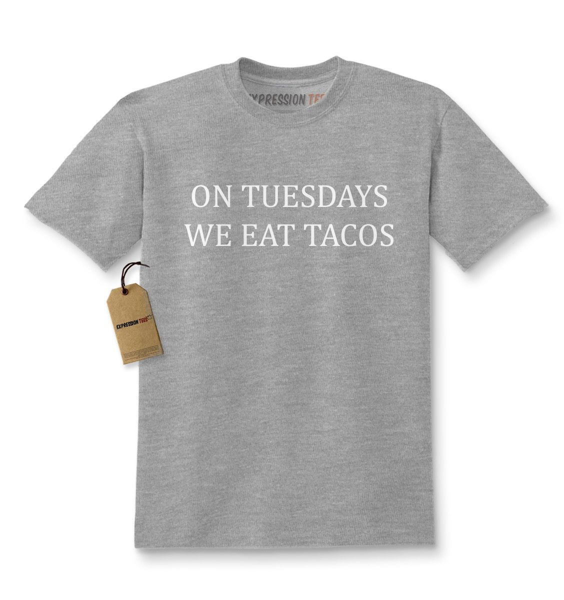 On Tuesdays We Eat Tacos Kids T-shirt