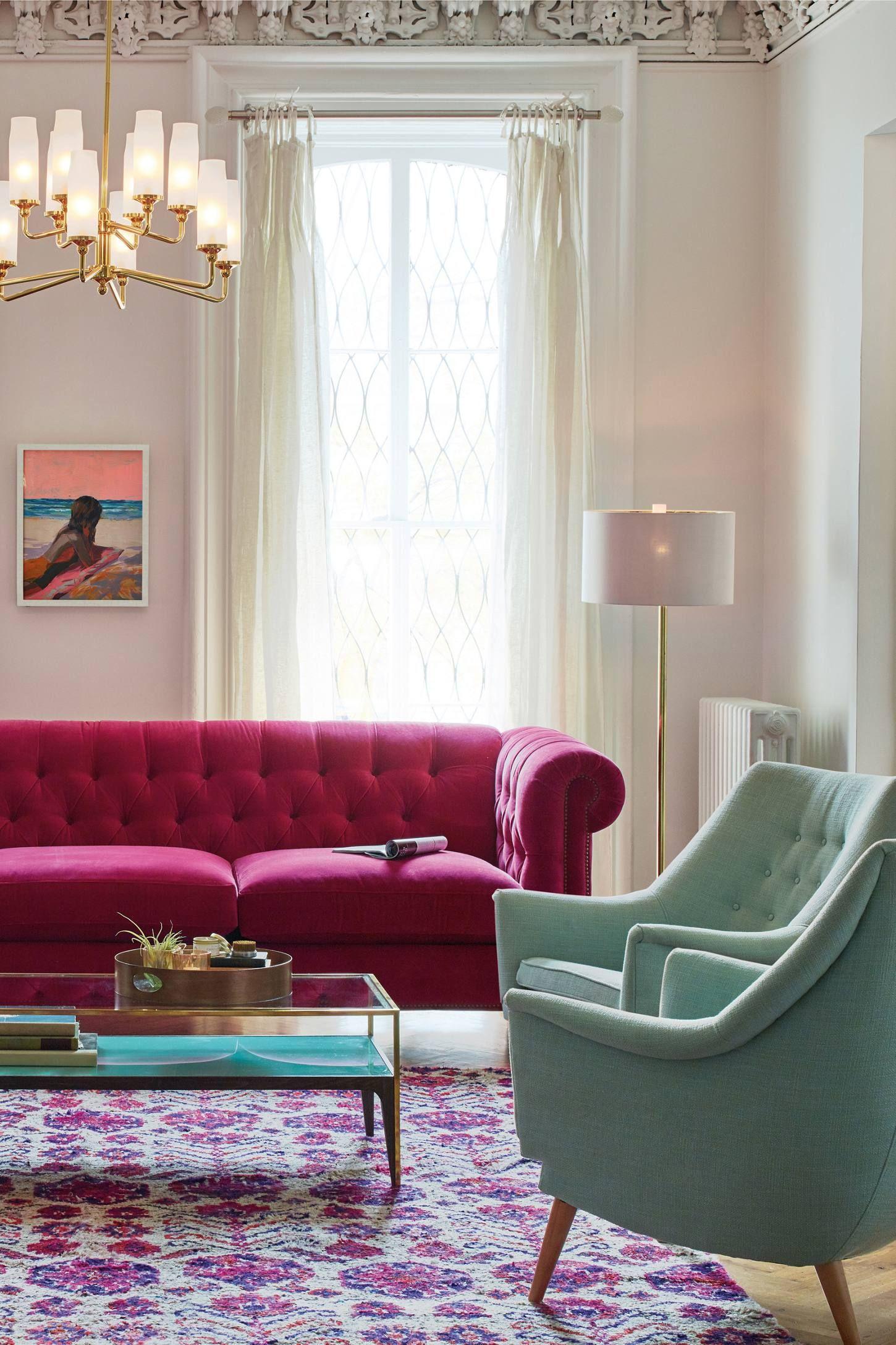 Brass Mirrored Tray Velvet Living Room Furniture Velvet Living Room Living Room Furniture #velvet #living #room #furniture