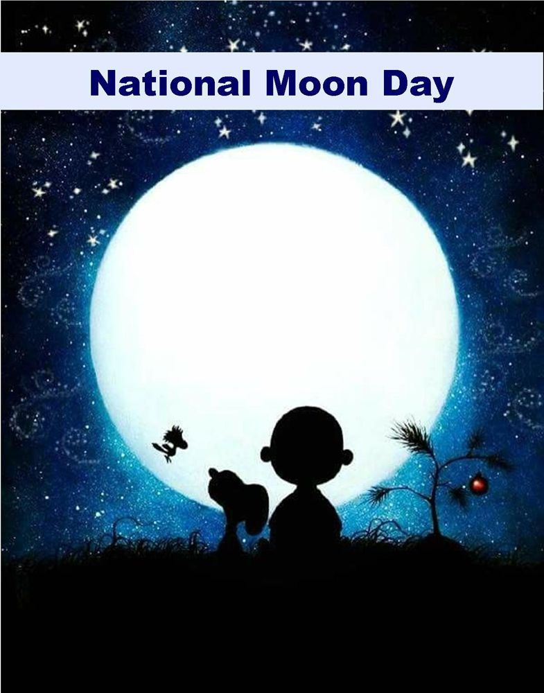 Happy National Moon Day from Sofi & Friends 🌝🛸🚀 FUNtastic