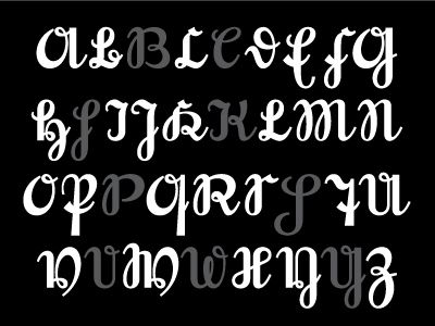 Here is the alphabet of my new font that is based on an old form of here is the alphabet of my new font that is based on an old form of german language hand writing script known as kurrent this style of writing was used altavistaventures Choice Image