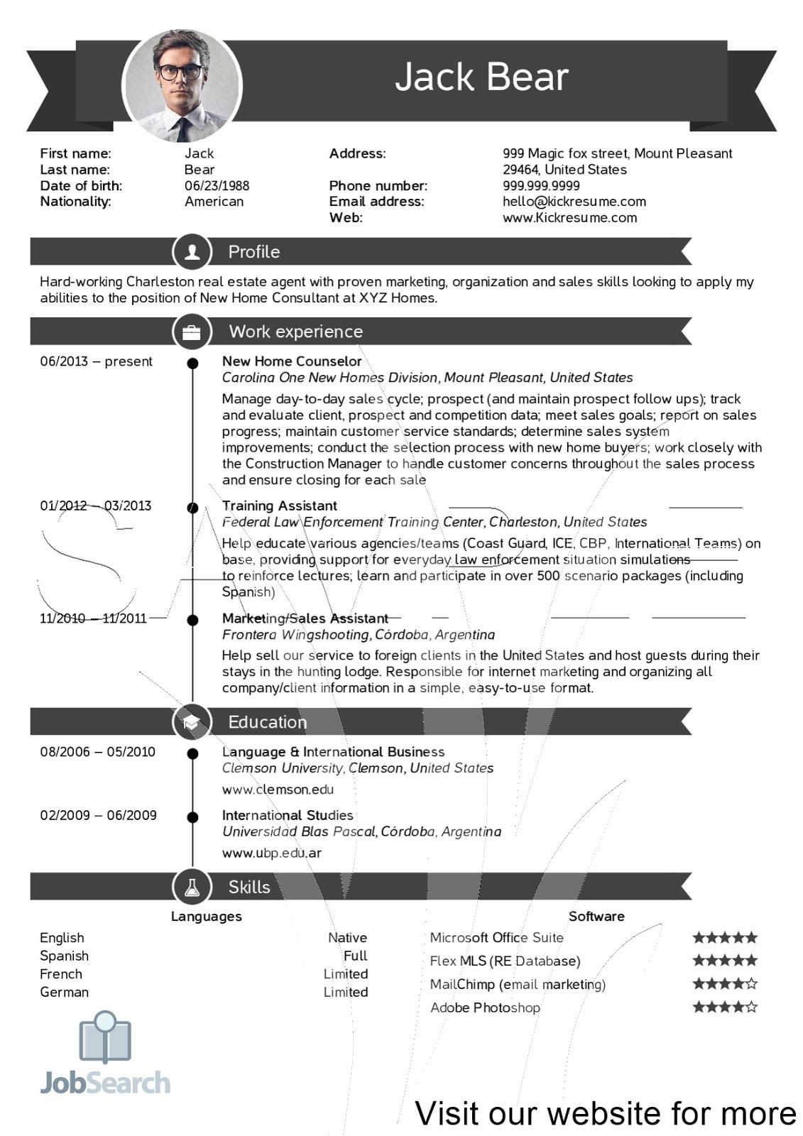 Real Estate Agent Resume Examples in 2020 Teacher resume