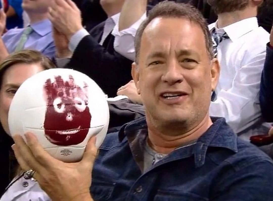 Cast Away Madison Square Garden Tom Hanks Dan Brown