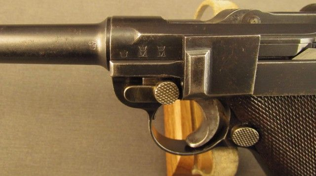 DWM p 08 German Navy 1906 Luger with Imperial Naval Markings