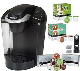 Keurig K40 Coffee Maker W 48 K Cup Packs Water Filter Starter