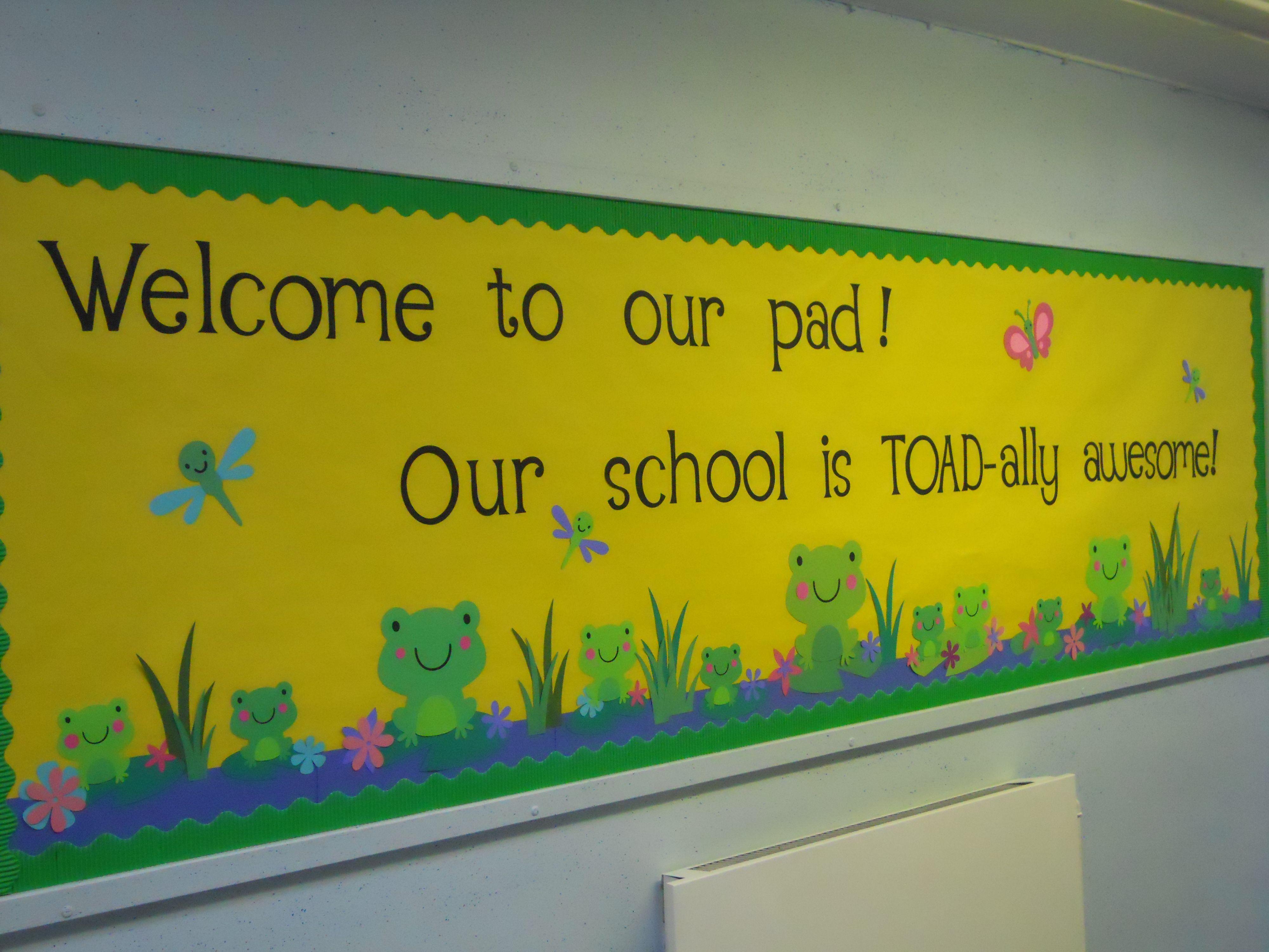 Bulletin Board made for school