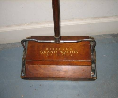 Antique Bissell39s Floor Sweeper Dollhouse Sf Pinterest