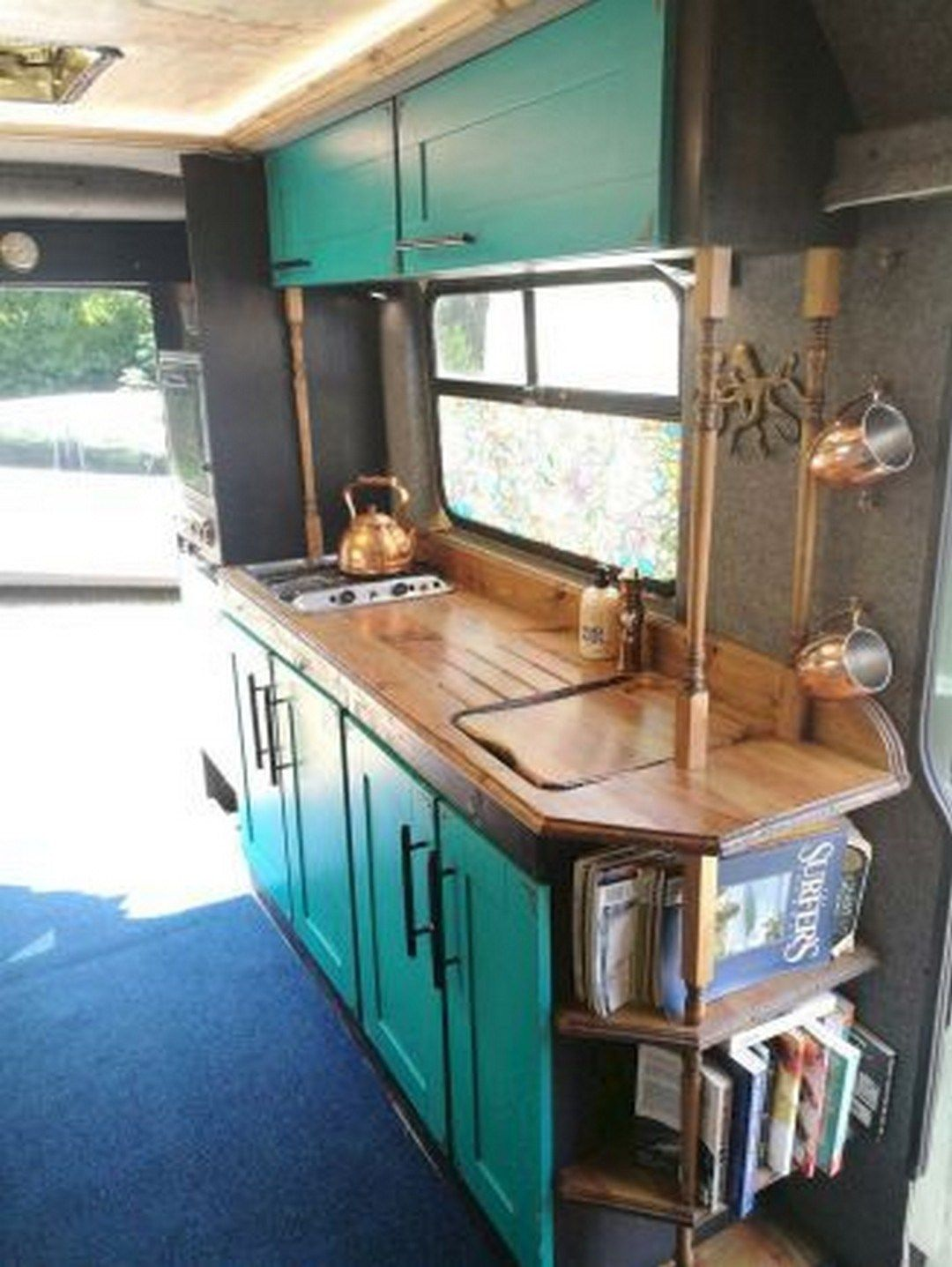 Best Sprinter Van Conversion Interior Design 55