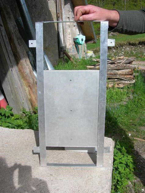 PORTE POULAILLER SOLAIRE Automatique Vente En Ligne Panneaux - Porte poulailler solaire