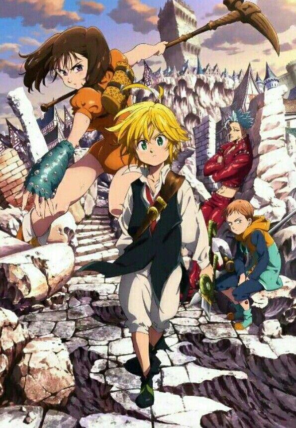 The Seven Deadly Sins Seven Deadly Sins Anime Anime Shows Anime