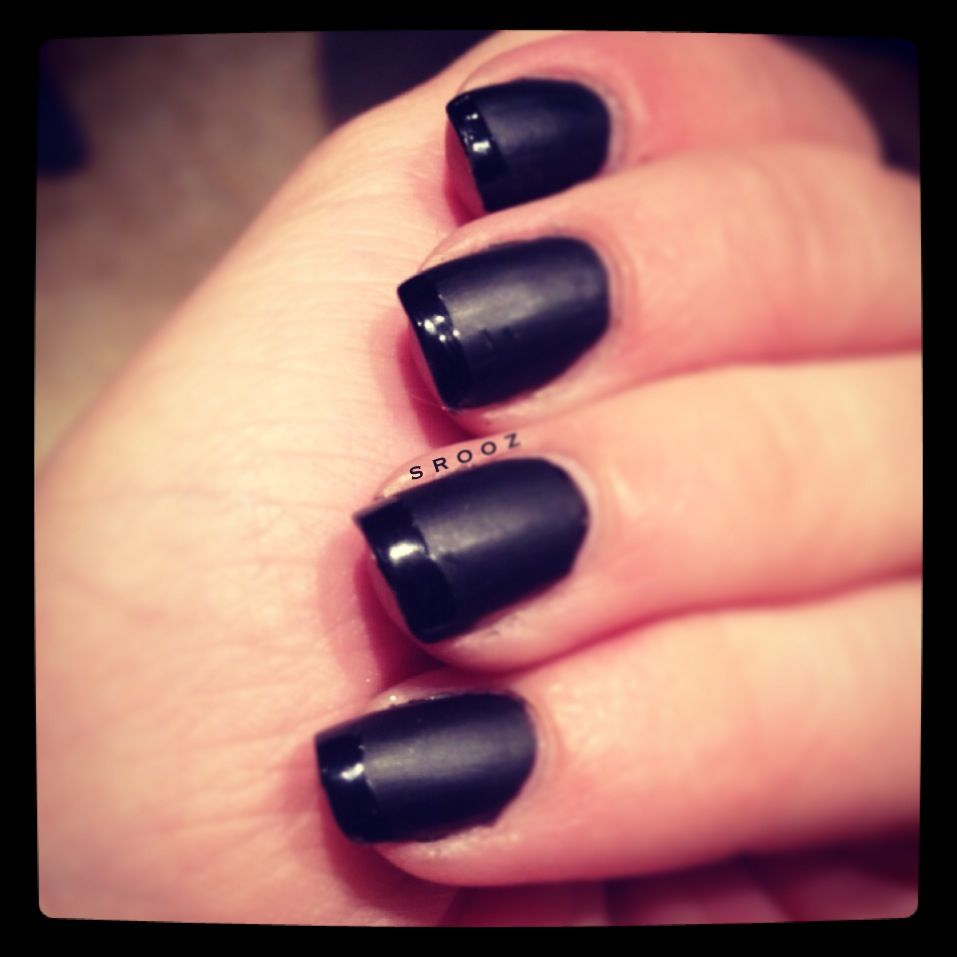 Essie licorice and matte about you topcoat #nails #essie #matte ...