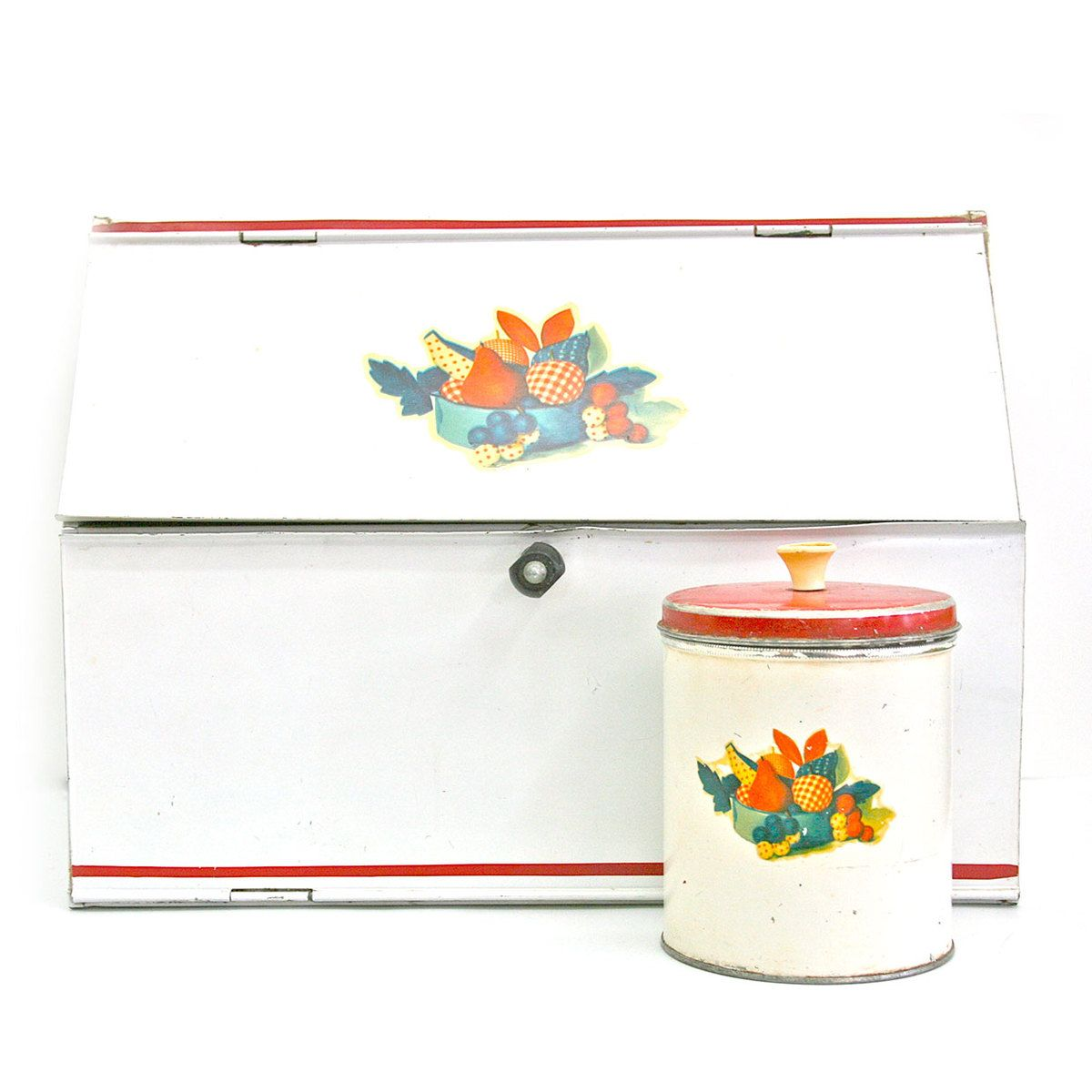 Fruit bread box and canister set canister sets
