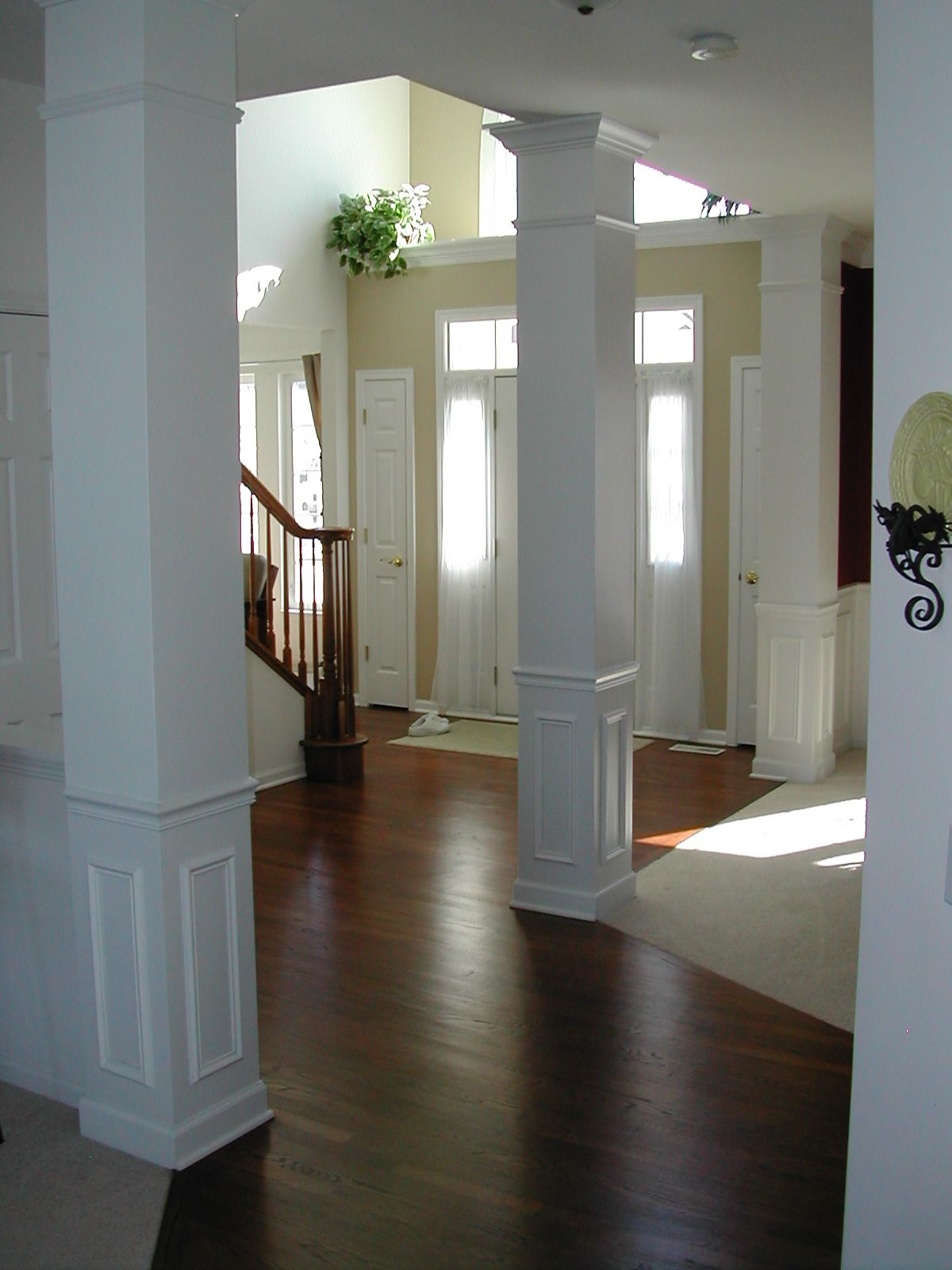 Kitchens With Columns open kitchens with columns pictures | tips for removing a wall to