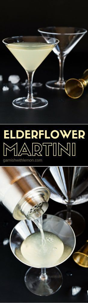 This Elderflower Martini - made with gin, vodka & St. Germain Liqueur - is one o... This Elde... This Elderflower Martini - made with gin, vodka & St. Germain Liqueur - is one o... This Elderflower Martini - made with gin, vodka & St. Germain Liqueur - is one of our most requested cocktail recipes. Make it batch style for groups!,