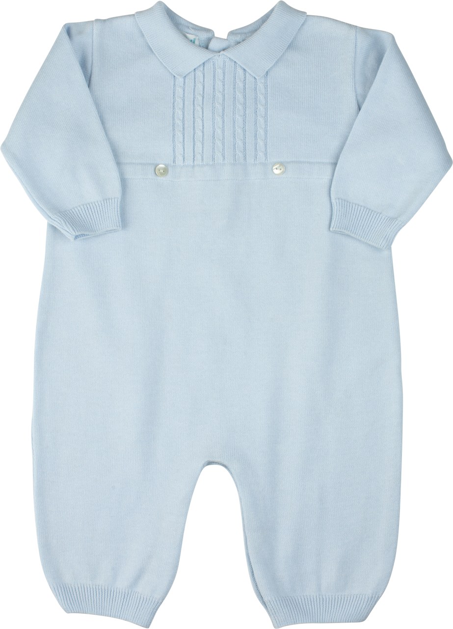 cfd4459f3 Boy s Knit Long Romper with Cables